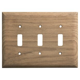 3 Toggle Light Switch Cover