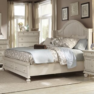 American Woodcrafters Newport Panel Bed