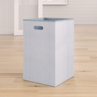 Compare Folding Laundry Hamper By Rebrilliant