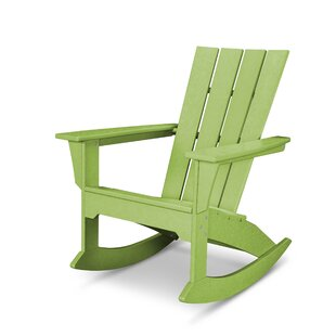 Quattro Plastic Rocking Adirondack Chair