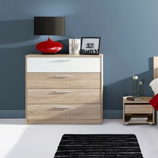 Duren 4 Drawer Dresser