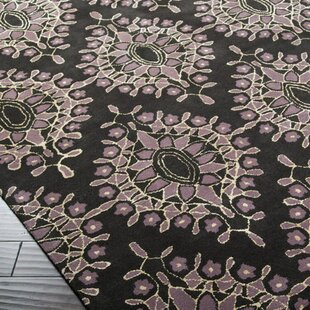 Affordable Blase Charcoal Area Rug ByBungalow Rose