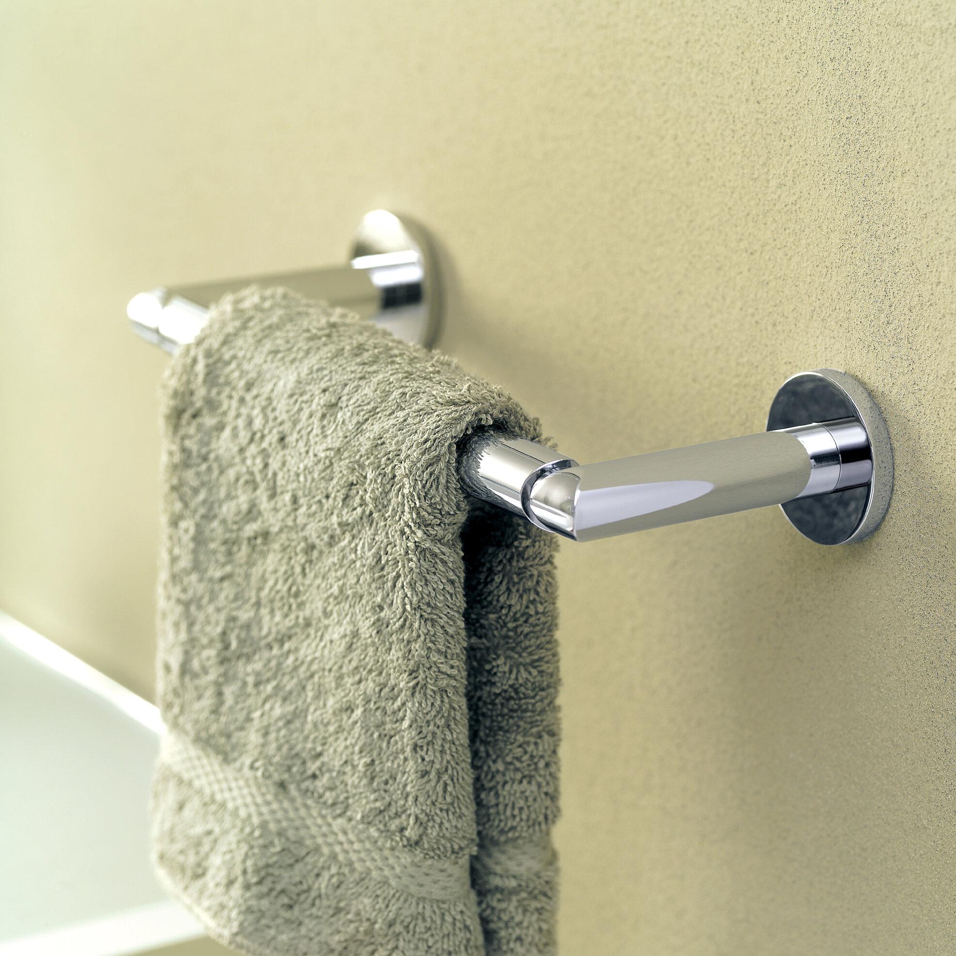 "Sine 9"" Wall Mount Towel Bar"