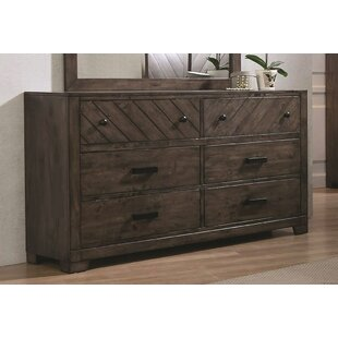 Cassady 6 Drawers Double Dresser