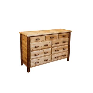 Denslowe 9 Drawer Double Dresser