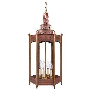 Northeast Lantern Hardwick 4-Light Outdoor Hanging Lantern