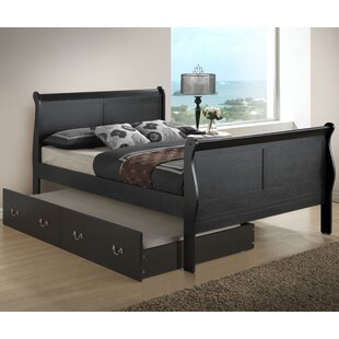 Lisle Sleigh Bed with Trundle ByLark Manor