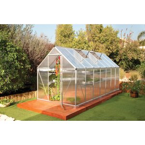 Nature Twin Wall 6 Ft. W x 14 Ft. D Greenhouse