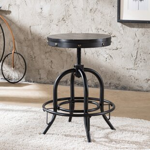 Alessia Adjustable Height Swivel Bar Stool by Trent Austin Design Sale