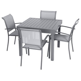 Antonioni 4 Seater Dining Set By Sol 72 Outdoor