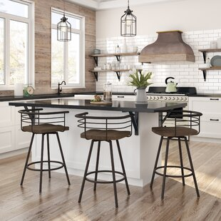 Huerta 30 Swivel Bar Stool Williston Forge