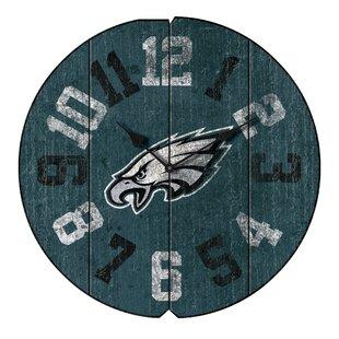 NFL Team Vintage Round 16 Wall Clock ByImperial International