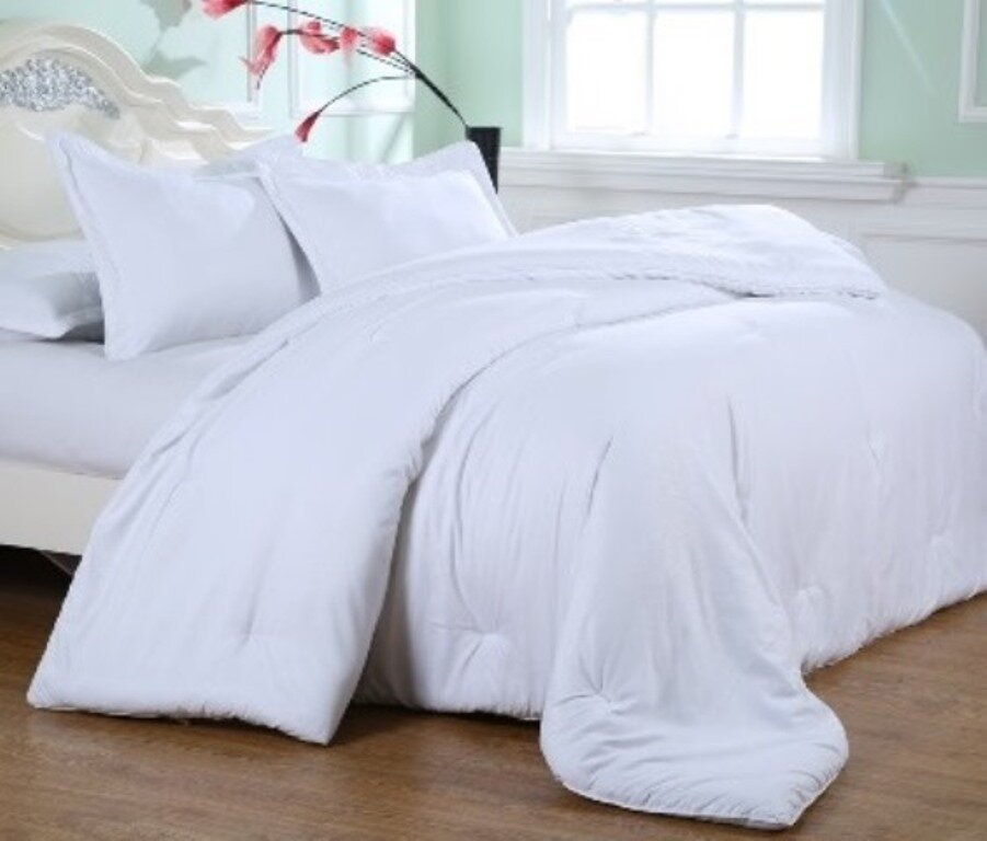 Comforter Sets Youll Love Wayfair - Blue solid color king size comforter