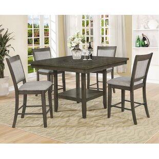 Briella 5 Piece Counter Height Dining Set by Gracie Oaks 2019 Sale