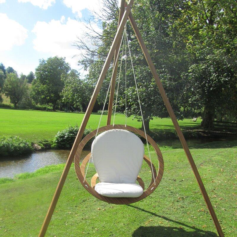 Circa Swing Chair with Stand & Bambrella Circa Swing Chair with Stand | Wayfair