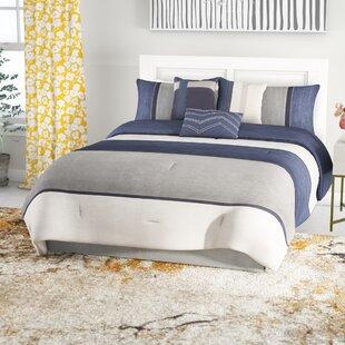 Dukinfield 7 Piece Reversible Comforter Set