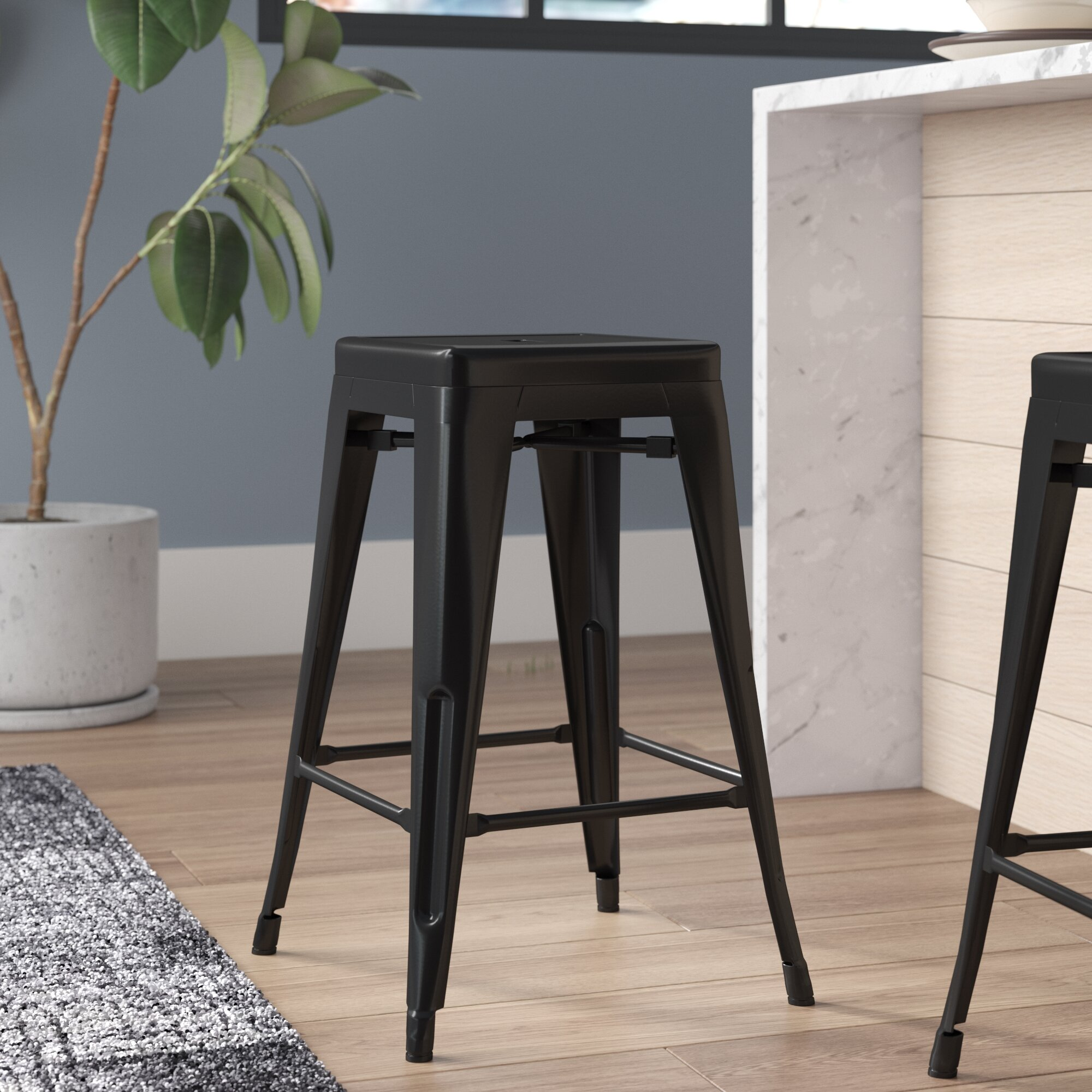 Miraculous Lompoc Bar Counter Stool Uwap Interior Chair Design Uwaporg