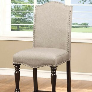 Meagan Counter Height Upholstered Dining Chair (Set of 2) Rosdorf Park