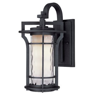 Compare prices Espitia Outdoor Wall Lantern By Millwood Pines