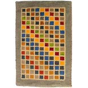 Rossett Hand-Woven Wool Yellow/Blue/Red Indoor/Outdoor Rug By Bloomsbury Market
