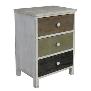Cheungs 3 Drawer Nightstand