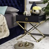 Mallen End Table With Storage by Everly Quinn