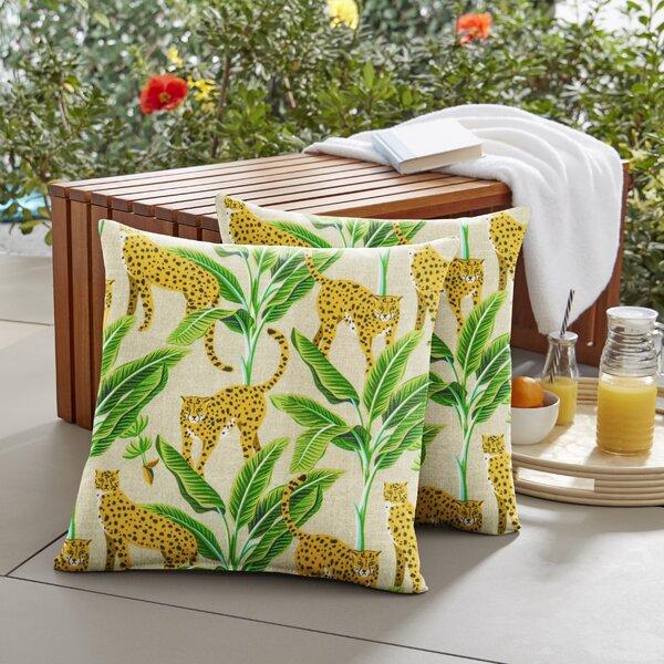 Bay Isle Home Scottsville Indoor Outdoor Floral Print Throw Pillow Wayfair