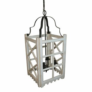 Gracie Oaks Raevon 4-Light Foyer Pendant
