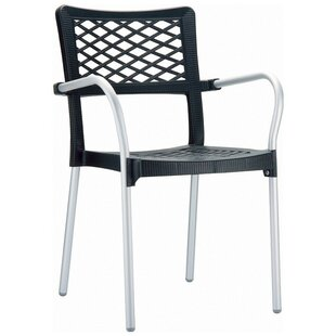 Goings Stacking Patio Dining Chair (Set of 4)