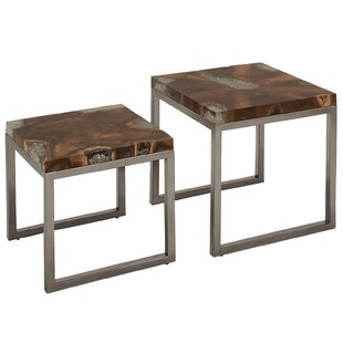 2 Piece Nesting Table by Urban Designs