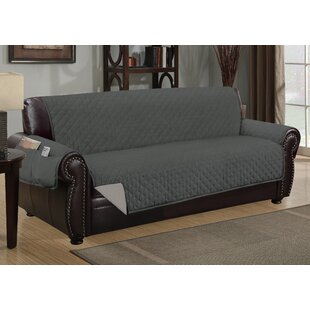 Deluxe Hotel Box Cushion Sofa Slipcover By Winston Porter