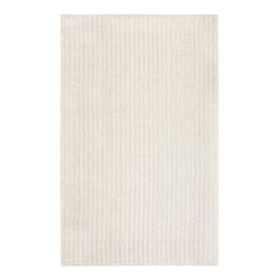 Affordable Scottsburg Handwoven Flatweave White Area Rug By Greyleigh