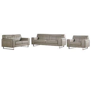 Diamond Sofa Vera 3 Piece Living Room Set