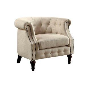 Alden Chesterfield Chair by Alcott Hill