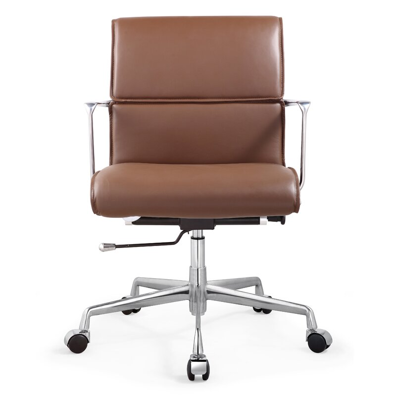 brown leather office chair. Italian Leather Office Chair Brown