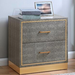 Doerr End Table with Storage by Mercer41