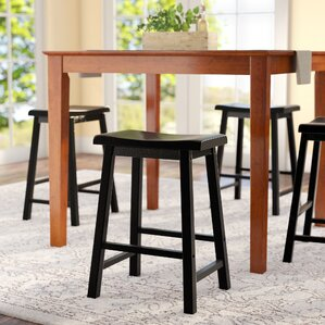 Whitworth 24\  Bar Stool (Set ... & Counter Height Bar Stools You\u0027ll Love | Wayfair islam-shia.org