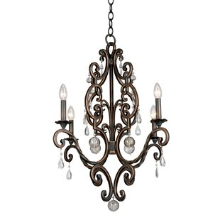 Kalco Montgomery 4-Light Chandelier