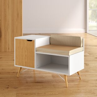 Sectional Wood Storage Bench by Modern Rustic Interiors
