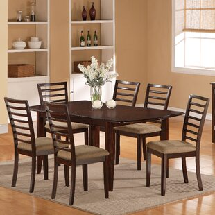 7 Piece Extendable Dining Set Wildon Home®