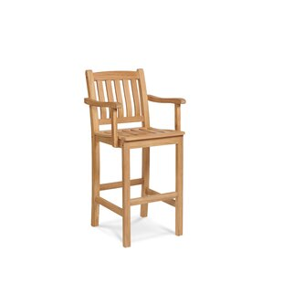 Shop For 30 inch  Teak Patio Bar Stool Price Check