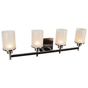 Ebern Designs Lisinski 4-Light Vanity Light