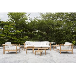 Maro Deep Seating Group with Sunbrella Cushions by OASIQ