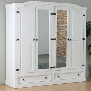 Drehtürenschrank Cotaco mit 2 Spiegeltüren von Marlow Home Co.