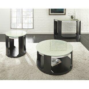 Latitude Run Charly 3 Piece Coffee Table Set