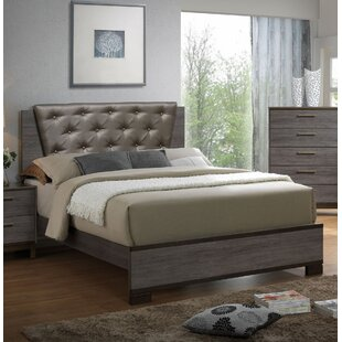 Pinnacles Upholstered Panel Bed by Trent Austin Design