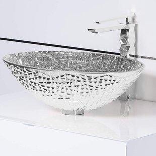 Read Reviews Diamante Luxury Crystal Vessel  Sink ByMaestro Bath