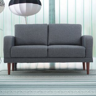 Sydney Linen Upholstered Loveseat