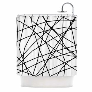Paucina v3 by Trebam Single Shower Curtain