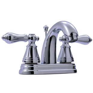 Kingston Brass English Classic Centerset Bathroom Faucet with Drain Assembly